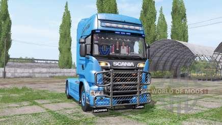 Scania R730 Topline 2010 v1.0.0.1 для Farming Simulator 2017