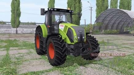 CLAAS Axion 820 Michelin для Farming Simulator 2017