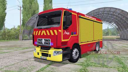 Renault D Sapeurs-Pompiers для Farming Simulator 2017