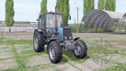 МТЗ 1025 Беларус синий для Farming Simulator 2017