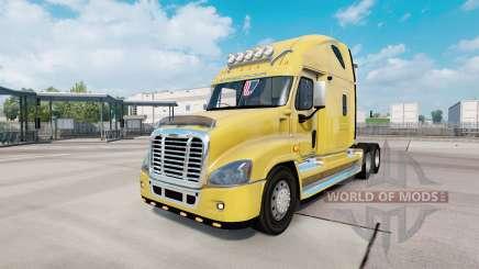 Freightliner Cascadia Raised Roof 2007 для Euro Truck Simulator 2