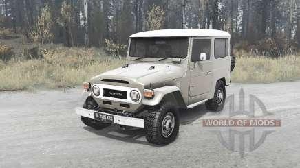 Toyota Land Cruiser 40 Hard Top (FJ40V) для MudRunner