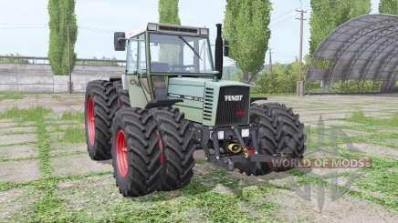 Fendt Farmer 310 LSA Turbomatik double wheels для Farming Simulator 2017