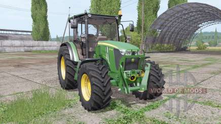 John Deere 5075M loader mounting для Farming Simulator 2017