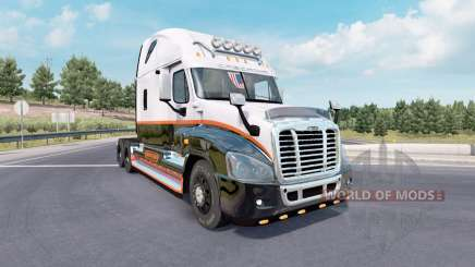 Freightliner Cascadia Raised Roof 2007 для American Truck Simulator