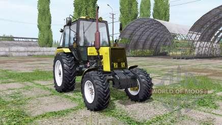 МТЗ 1025 Беларус жёлтый для Farming Simulator 2017