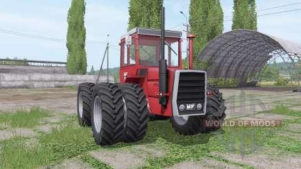 Massey Ferguson 1200 twin wheels для Farming Simulator 2017