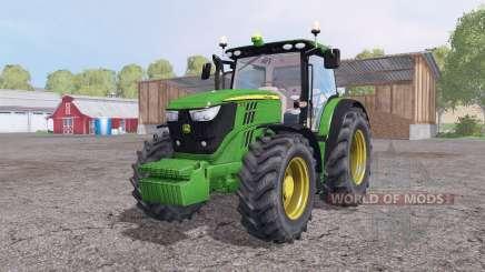 John Deere 6170R front loadеr для Farming Simulator 2015