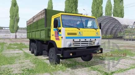 КамАЗ 55102 6x6 для Farming Simulator 2017