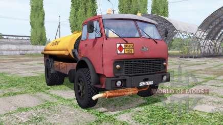 МАЗ 500 топливозаправщик для Farming Simulator 2017