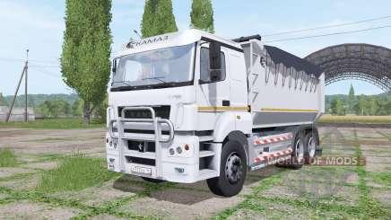 КАМАЗ 65802 v1.2 для Farming Simulator 2017