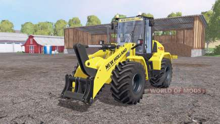 New Holland W170C v1.1 для Farming Simulator 2015