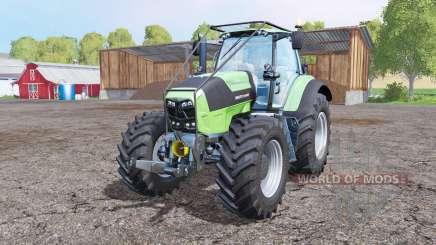 Deutz-Fahr Agrotron 7250 TTV forest для Farming Simulator 2015