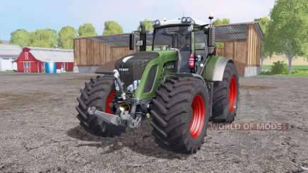 Fendt 936 Vario interactive control для Farming Simulator 2015