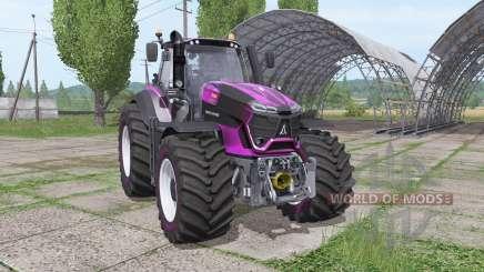 Deutz-Fahr Agrotron 9290 TTV lila design для Farming Simulator 2017