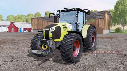 CLAAS Arion 650 twin wheels для Farming Simulator 2015