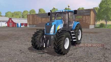 New Holland T8020 4x4 для Farming Simulator 2015
