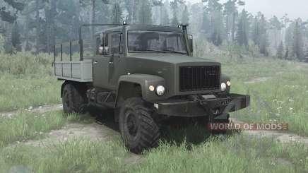 ГАЗ 33081 Егерь-II для MudRunner