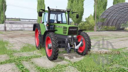 Fendt Favorit 515C Turbomatic narrow wheels для Farming Simulator 2017