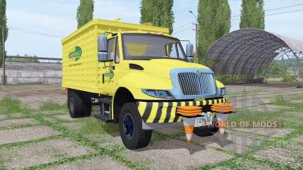 International DuraStar chipper truck для Farming Simulator 2017
