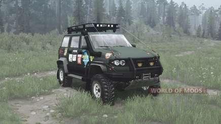 УАЗ 3163 Патриот трофи для MudRunner