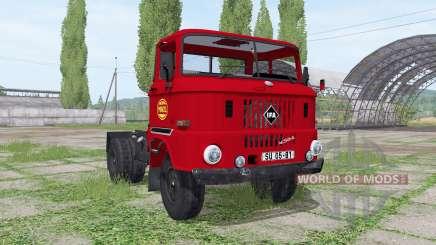 IFA W50 L semi-trailer для Farming Simulator 2017