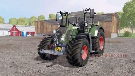Fendt 718 Vario SCR Profi Plus FL для Farming Simulator 2015