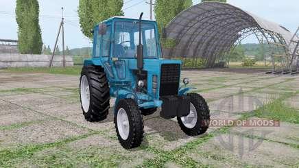 МТЗ 80 Беларус 4x4 для Farming Simulator 2017