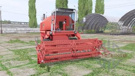 Bizon Rekord Z058 для Farming Simulator 2017