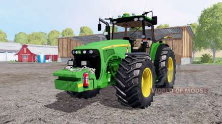 John Deere 8520 weight для Farming Simulator 2015