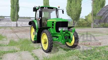 John Deere 7430 Premium narrow tires для Farming Simulator 2017