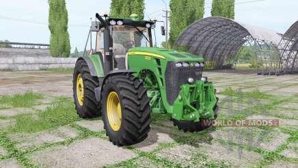 John Deere 8530 Laforge для Farming Simulator 2017