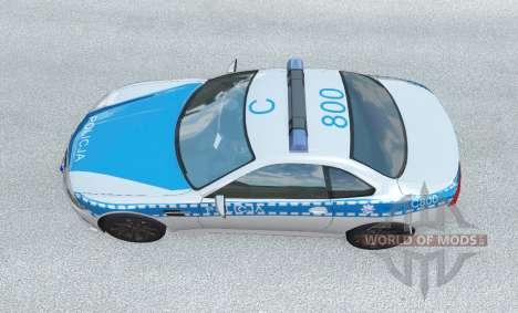ETK K-Series Polska Policja v1.2 для BeamNG Drive