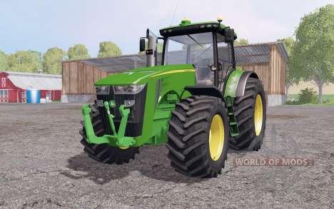 John Deere 8360R interactive control для Farming Simulator 2015