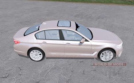 BMW 540i xDrive sedan (G30) 2017 для Farming Simulator 2017