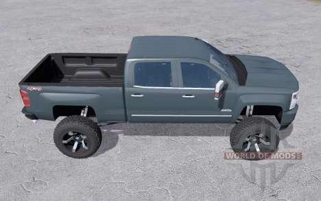Chevrolet Silverado 1500 High Country 2016 lift для Farming Simulator 2017