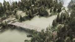 Сосновый пруд для MudRunner