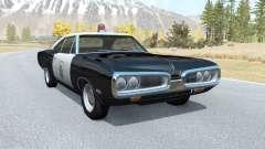 Dodge Coronet California Highway Patrol v1.1 для BeamNG Drive