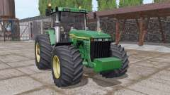 John Deere 8410 v3.0 для Farming Simulator 2017