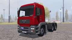 MAN TGA 26.480 6x6 BLS для Farming Simulator 2013