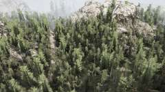 WoodsLight для MudRunner