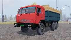 КамАЗ 43114 зерновоз для Farming Simulator 2013