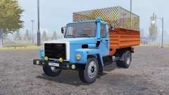 ГАЗ 4301 v2.0 для Farming Simulator 2013