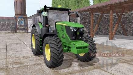 John Deere 6175R more parts для Farming Simulator 2017