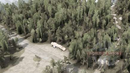 Kane Creek Forest для MudRunner