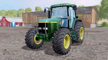 John Deere 6810 loader mounting для Farming Simulator 2015