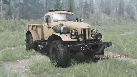 ЗиЛ 157 4x4 Лесоруб для MudRunner