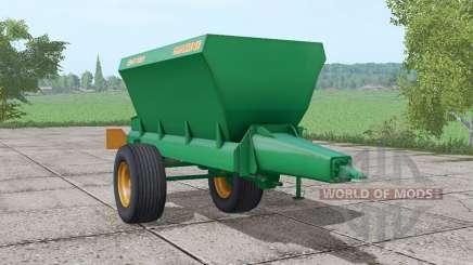 AMAZONE ZG-B 6001 для Farming Simulator 2017