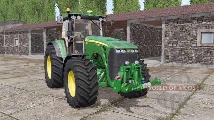 John Deere 8130 real sound для Farming Simulator 2017