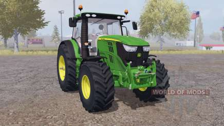 John Deere 6210R interactive control для Farming Simulator 2013